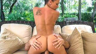 Rachel Starr is one of our favorite babes here at Bang Bros HQ, so you damn know we gotta keep bringing her back! Her ass is too damn perfect, goddaaayum. I just wanna bury my face in it until I cant breath anymore! Anyhow, she is a ride or die nympho, s