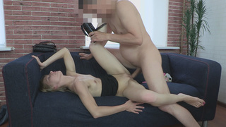 Ulia has the hottest shaved pussy