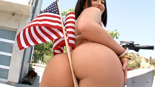 This week were celebrating the birth of our nation the only way we know how. By pounding a hot girl in the ass for America! Thats right Gabriela Patronova is her name and she likes to get down. You going to love watching her sexy body. Gaby loves to suck