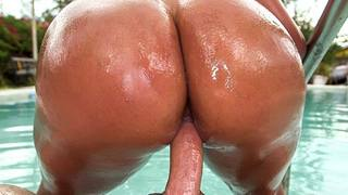 Oh Sofia Char! I wish my girl had an ass like yours! Wow! This Latina babe is a walking AssParade. Watch that ass bounce when she walks. Absolutely incredible. This babe has a sexy body. Nice set of tits, a tight shaved pussy and an ass that men crave for