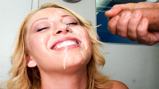 For your pleasure is another fine Facial Fest. Ashden Rivers was one cute blondie with a nice fat ass. When she showed up in Prestons office, she was super excited to see what it was like to be a porn star. Having only lost her virginity a short while bef
