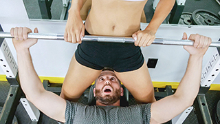 Amethyst Banks is a hot personal trainer who does not give a fuck about how in shape you think you are. Mike thought he was ripped, but Amethyst begged to differ and put him through an intense workout. As a cap to their workout she gave him a whiff of her