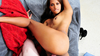 Staci Ellis is from the Dominican Republic and shes perfect for todyas update of Chongas, Shes beautiful! Natural tits, a pink juicy pussy and a perfect round ass. She showed Brick Danger her cock-sucking skills and then took his big dick in that tight pu