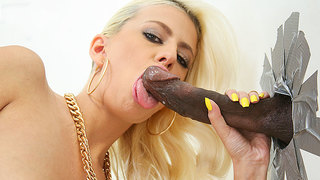 The tidal wave of foreign chicks looking for big black dick has yet to diminish. Jessie Volt brings her French appetite for dark dick over to our little land. Jessies search for something to quench her sexual appetite has brought her to a public restroom,