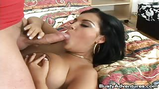 On this week update of Busty Adventure we bring to you one of the hottest chick from Romania with a banging ass body. She hooks up with my buddy whos from Europe but having no idea that shes about to get the fuck of her life. My buddy gets to titty fuck t