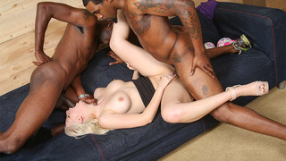 Jenna Ivory isnt as sweet as innocent as she appears. Jenna has never,ever fucked a black cock despite her intense love for interracial porn. Jenna fingers herself daily to video of big black cocks doing their thing to white bitches like herself....and no